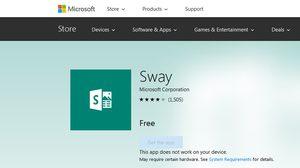 Microsoft พัฒนา Sway เพิ่มความสะดวกในการใช้งานบน iOS