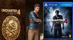 Uncharted 4: A Thief's End เผยชุดสะสมเกมส์สุดพิเศษ น่าซื้อมาก