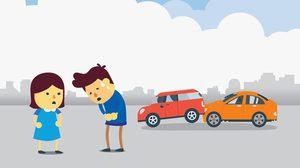 ชนท้ายรถคันอื่น แบบไหนผิด แบบไหนไม่ผิด