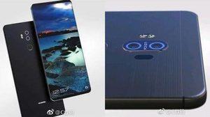 หลุด ภาพเรนเดอร์ใหม่ Huawei Mate 10 มาพร้อมจอไร้กรอบขนาด 6.1 นิ้ว