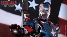"""Hot toys ใช้จริง """"DIECAST"""" ในสินค้า Iron Patriot 1/6 ไม่ได้โม้"""