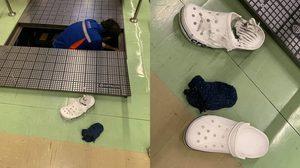 ดอนเมืองชี้แจง อุบัติเหตุรองเท้าผู้โดยสาร ติดทางเลื่อน