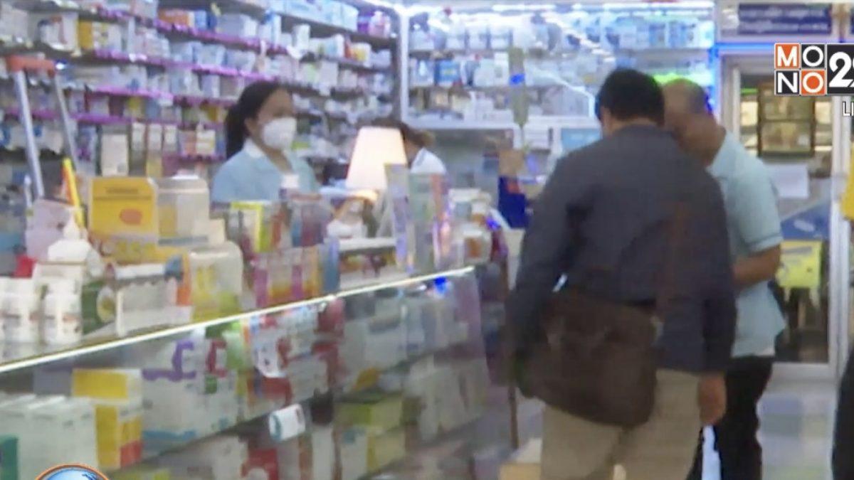 ชาวจีนแห่ซื้อหน้ากากอนามัยจากร้านขายยา
