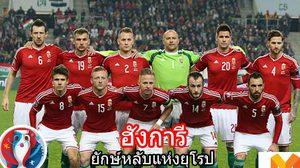 """แนะนำ24ทีม ยูโร2016 กลุ่ม F – ฮังการี """"ยักษ์หลับแห่งยุโรป"""""""