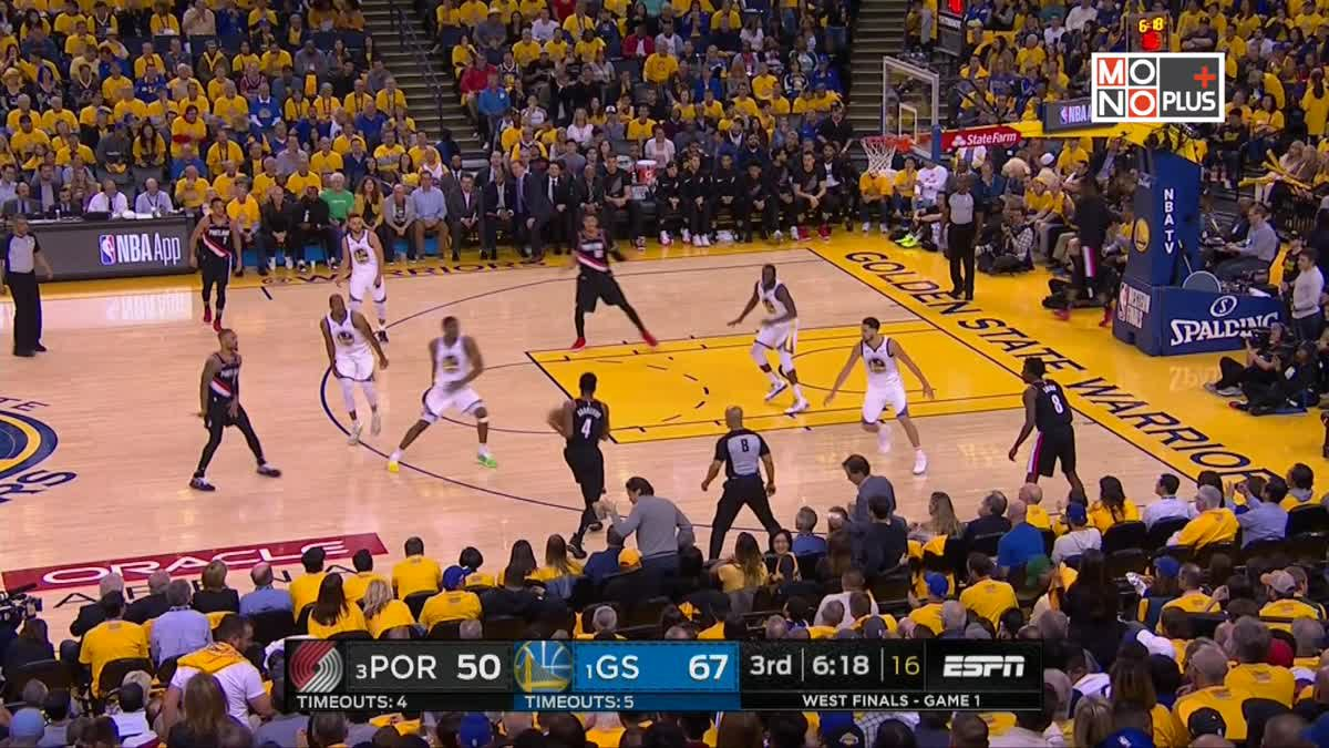 Highlight PORTLAND TRAIL BLAZERS VS GOLDEN STATE WARRIORS [Game1]