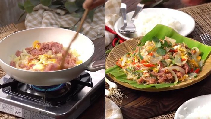 วิธีทำ แหนมผัดไข่ เมนูทำง่าย อิ่มอร่อยครบรส