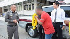 ขอโทษแล้ว! ชายเมากร่างท้าต่อยตำรวจ เข้าขอขมาเจ้าหน้าที่ รับสำนึกผิด