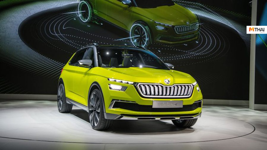 Skoda ท้าชน Hyundai Creta พร้อมเปิดตัวรถยนต์ต้นแบบที่งาน Auto Expo 2020