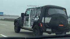 หลุด! ว่าที่ Jeep Wrangler ตัวใหม่วิ่งทดสอบแล้วที่สหรัฐอเมริกา