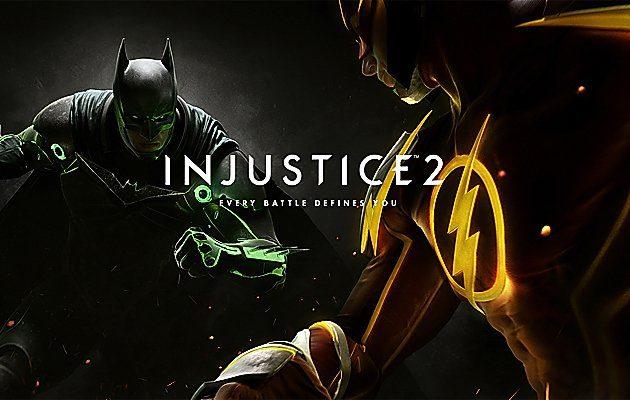 ตัวอย่างเกม Injustice 2