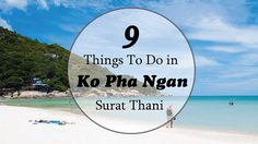 9  Things To Do in Ko Pha Ngan, Surat Thani