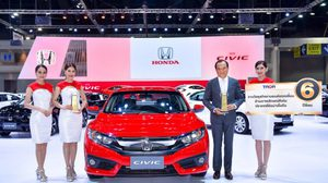 Honda คว้ารางวัล TAQA Award – Trusted Brand 6 ปีซ้อน ในงานมหกรรมยานยนต์ ครั้งที่ 34