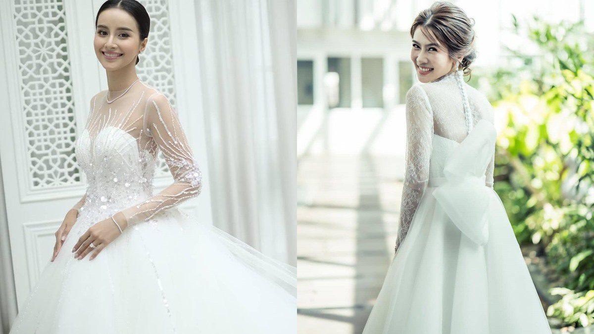 เจ้าสาวสายหวาน อย่าพลาด ชุดแต่งงานแบรนด์ไทย เชอซี เรียบโก้งดงาม