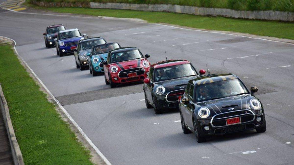 """สัมผัสสุดยอดประสบการณ์การขับขี่ สไตล์มันส์ๆกับ MINI ใน """"MINI Track Day"""""""
