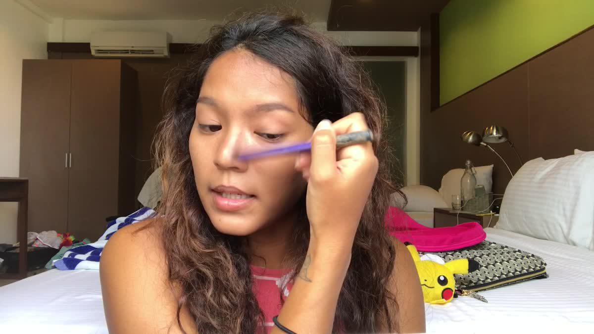 แต่งหน้า Make up no Make up สไตล์ แนนซี่ นัยน์ภัค