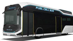 Toyota เตรียมโชว์ Concept รถ City Bus พลัง hydrogen ที่งาน Tokyo Motor Show 2017