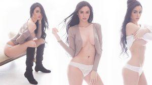 Kim Domingo ถ่ายแบบ FHM Philippines เซ็กซี่ ร้อนแรงส่งท้ายปี