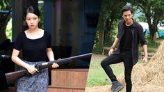 เซียงเซียง แผลงฤทธิ์ถือปืนยิงขู่ ปีโป้ หลบลูกปืนเหยียบขี้ควายใน มงกุฎดอกหญ้า