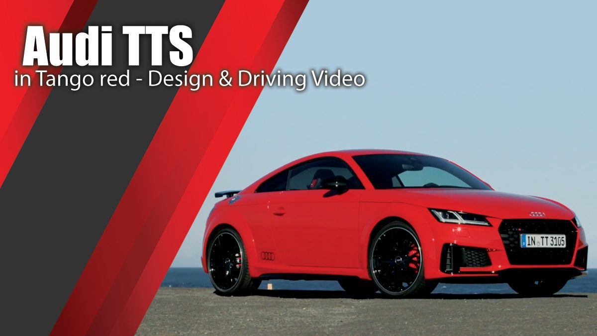 Audi TTS Coupe in Tango red - Design & Driving Video