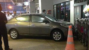 สาวจอดรถพลาด พุ่งชนอาคารสนามบินภูเก็ต ชาวจีนเจ็บ