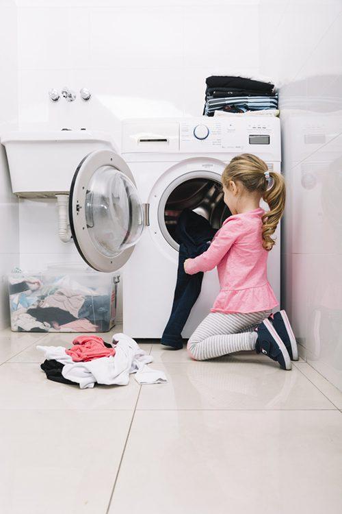 เครื่องซักผ้า อัตโนมัติผู้ช่วยคนเก่งสำหรับแม่บ้าน