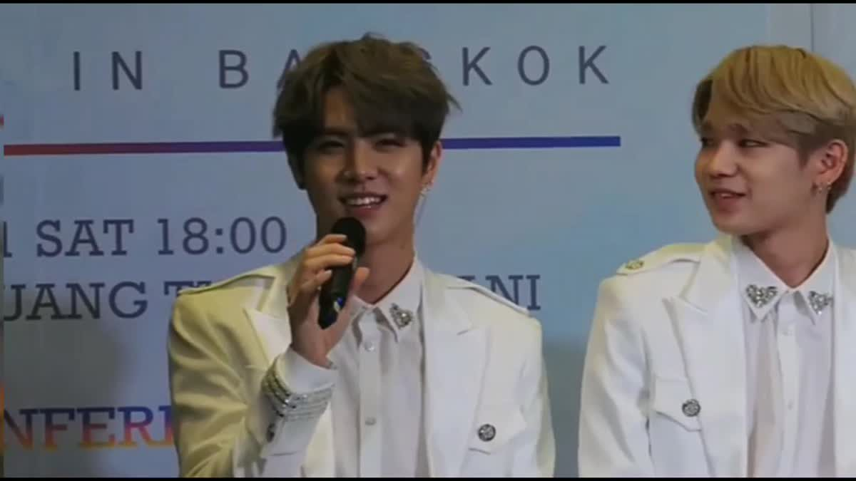 ลุ้นรับบัตร 2018 KIM DONGHAN THE 1ST FAN MEETING IN BANGKOK เพียงดูคลิปวีดิโอนี้!