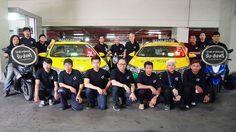 พาร์ทเนอร์ผู้ขับขี่ Grab ร่วมจิตอาสาให้บริการรับ-ส่งประชาชน ในช่วงงานพระราชพิธีถวายพระเพลิงพระบรมศพ ระหว่างวันที่ 25 – 29 ตุลาคม 2560