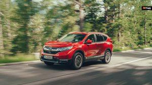 Honda CR-V Hybrid รถครอสโอเวอร์ไฮบริดรุ่นแรก บุกเข้าตลาดยุโรปภายในปี 2019