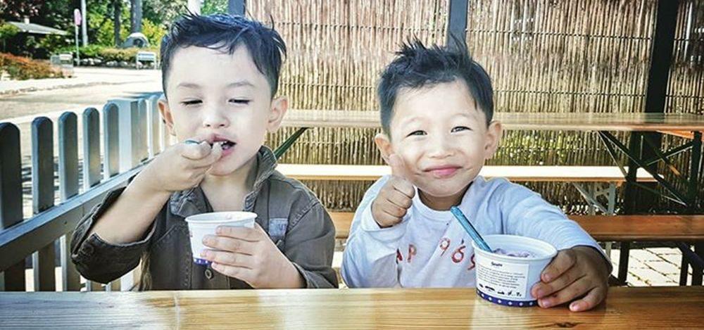 ไอศกรีมมื้อแรกในเดนมาร์ก
