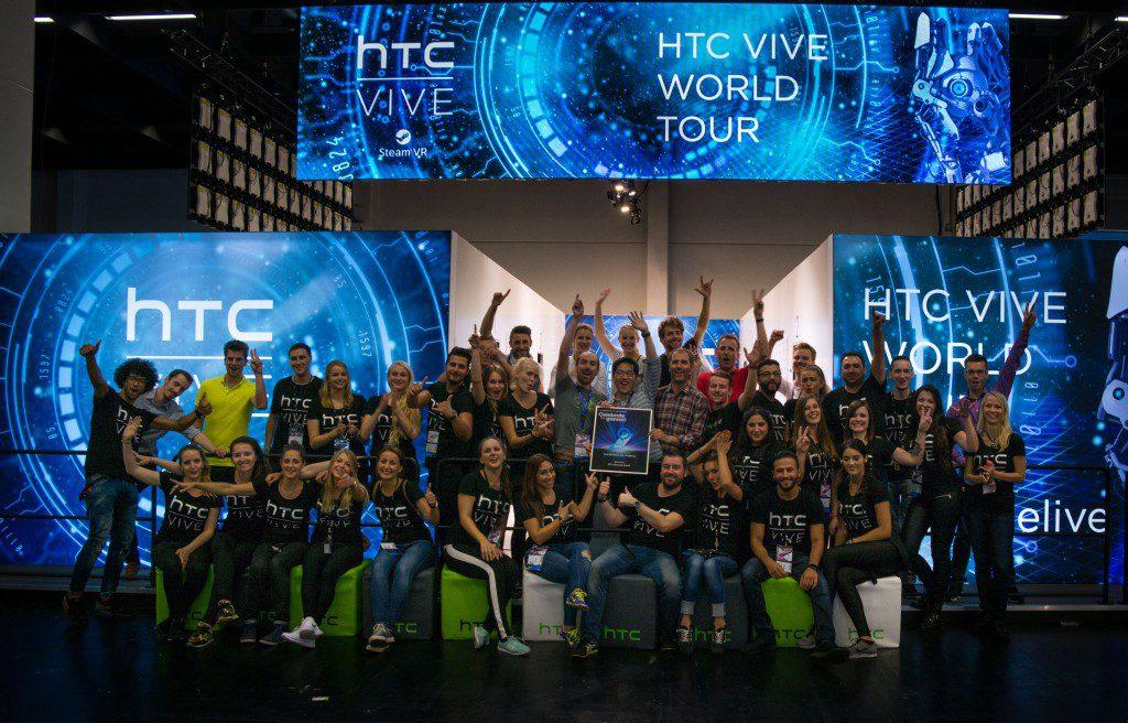 HTC Vive World Tour