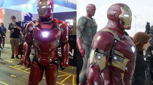 นึกว่า โทนี สตาร์ก มาเอง!! คอสเพลย์ใส่ชุดเกราะ Iron Man Mark 46 จากเครื่องปรินเตอร์สามมิติ สวยสมจริง