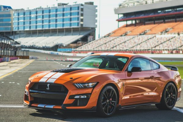 Ford Mustang GT500 Track Attack