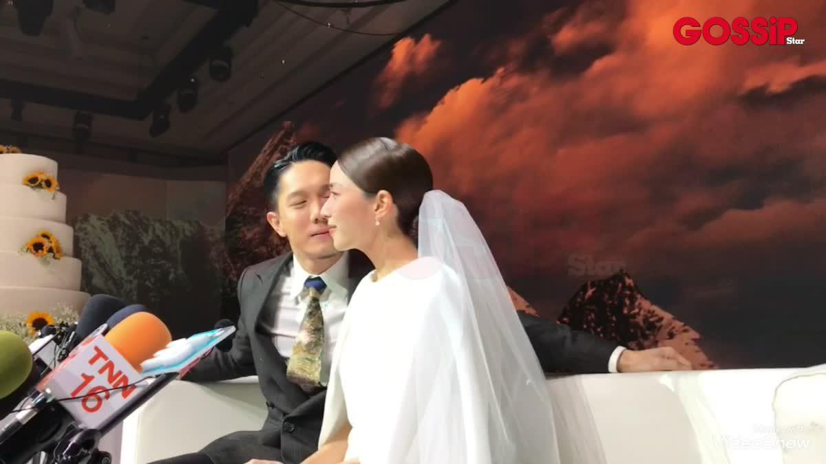 บ่าวสาวสุดคิ้วท์! บรรยากาศงานแต่ง ปั๊บ โปเตโต้ - เตย สุวพิชญ์