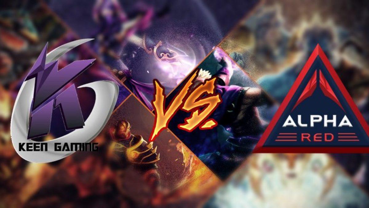 WESG APAC DOTA2 Keen Gaming vs Team Alpha Red คลิปย้อนหลัง