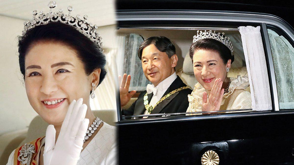เปิดตำนาน เทียร่า Meiji Scroll Tiara เครื่องประดับสำคัญแห่งราชบัลลังก์ญี่ปุ่น