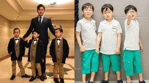 อัพเดทพัฒนาการแฝด 3 แทฮั่น มินกุก มันเซ ฉายแววโอปป้า