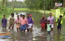 ยอดผู้เสียชีวิตจากน้ำท่วมในอินเดียพุ่งทะลุ 300 ราย