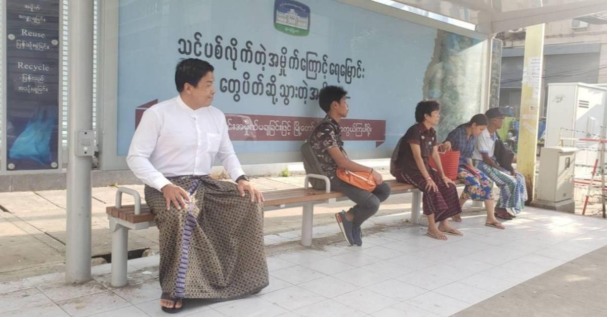 """""""ชัชชาติ"""" เผยขึ้นรถเมล์แอร์เย็นเฉียบที่พม่า แต่จ่ายเงินแค่ 5 บาท !"""