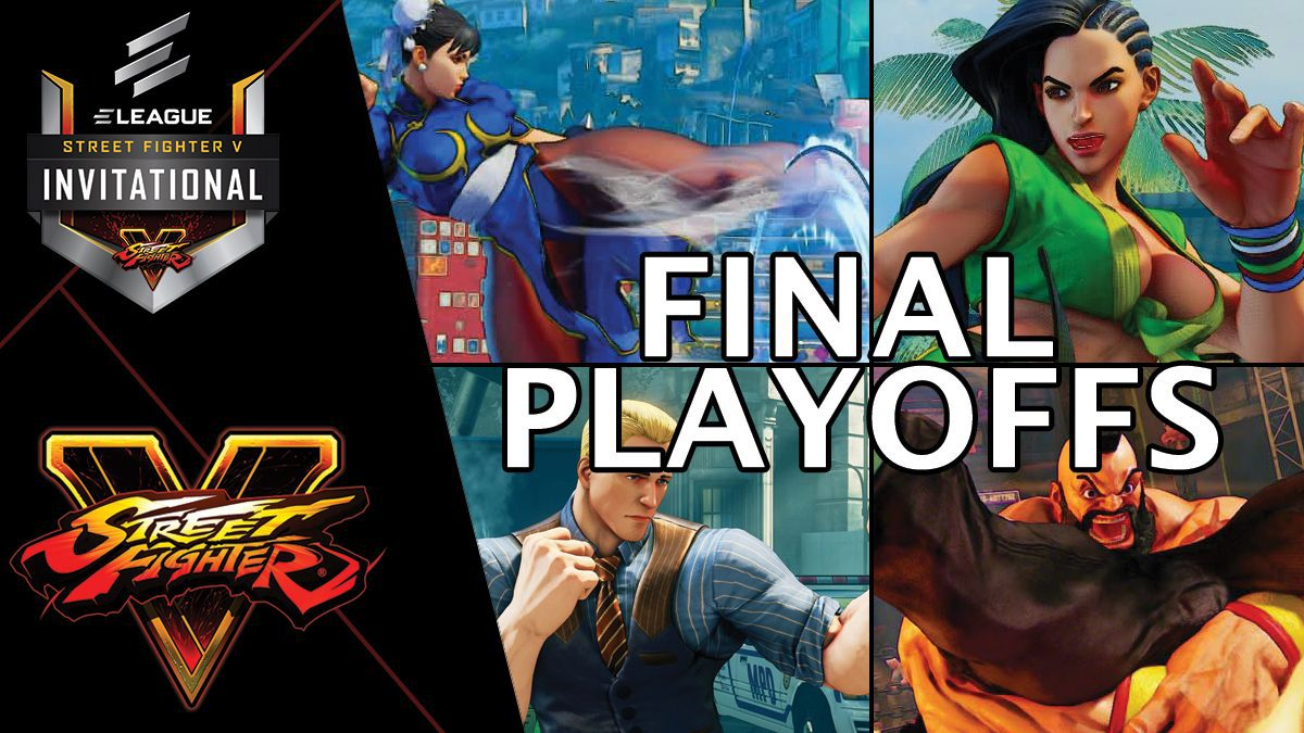 การแข่งขัน Street Fighter V Invitational 2018 | Final Playoffs [2/2]