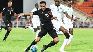 ประมวลภาพ ทีมชาติไทย พ่าย ซาอุดิอาระเบีย 0-3 ศึก ฟุตบอลโลก 2018 รอบคัดเลือก