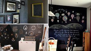 แต่งห้องให้สวย มีสไตล์ด้วย กระดานดำ