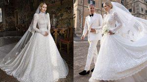 เลดี้ คิตตี้ สเปนเซอร์ สวมชุดเจ้าสาว Dolce & Gabbana เข้าพิธีแต่งงานกับมหาเศรษฐีวัย 62