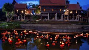 10 สถานที่ลอยกระทงยอดฮิตทั่วไทย 2559