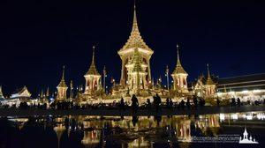 ย้อนหน้าประวัติศาสตร์ไทย ชมภาพพระเมรุมาศ งดงามวิจิตรอย่างสมพระเกียรติ