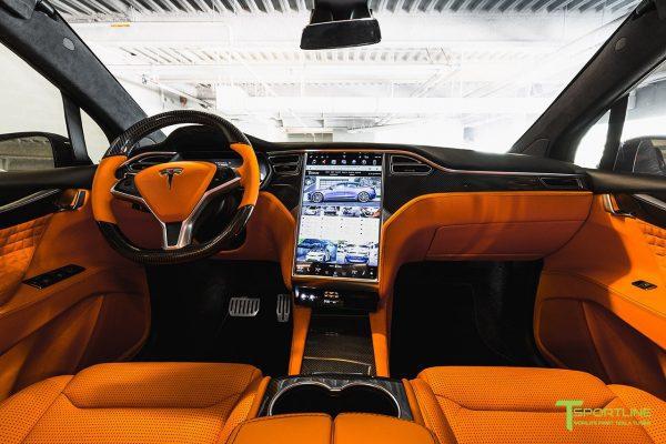 Tesla Model X T Largo