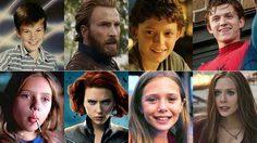 ย้อนวัยเหล่า Avengers มาดูกันตอนเด็ก ๆ แต่ละคนจะน่ารักแค่ไหน