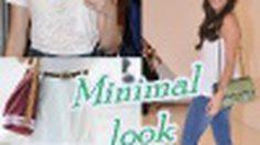 สไตล์มินิมอล แต่งง่ายไม่ต้องคิดเยอะ แฟชั่นเรียบๆ แต่เริ่ด!!!