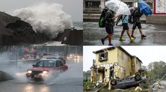 ประมวลภาพความเสียหาย พายุฮากิบิส เข้าถล่มประเทศญี่ปุ่น รุนแรงที่สุดในรอบ 60 ปี