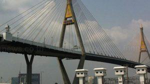 ทางหลวงชนบทแจง ห้ามรถจักรยานยนต์ ขึ้นสะพานภูมิพล