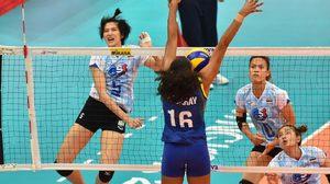 บราซิลแกร่งเกิน! วอลเลย์บอลหญิงไทย สู้เต็มที่ก่อนพ่าย 0-3 เซต เวิลด์ กรังปรีซ์